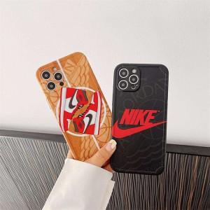 Air Jordan アイフォン 13Pro カバー ブランド iphone12mini全面保護保護ケース ロゴ付き Air Jordan  ...