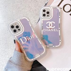 お洒落なシャネル iphone13 proケースは優れたシープスキンで、クラシックな菱形のデザイン、大きいC&a ...