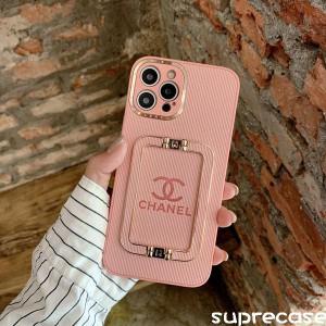優れたレザー製、菱形のデザイン、素敵なChanel iPhone13/13pro max携帯ケースを作り出します。 http:/ ...